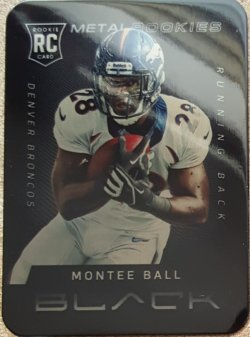 2013 Panini Black Montes Ball Metal Rookies