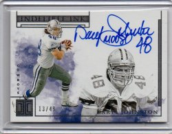 2019 Panini Impeccable Daryl Johnston Indelible Ink