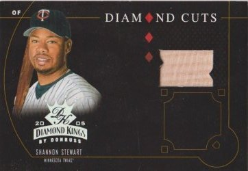 2005  Donruss Diamond Kings  Shannon Stewart