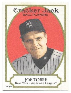 2005 Topps Topps Cracker Jack Mini Red Joe Torre