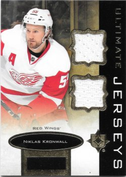 2013-14 Upper Deck Ultimate Collection Jerseys Niklas Kronwall