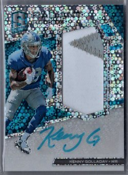 2017 Playoff Spectra Kenny Golladay
