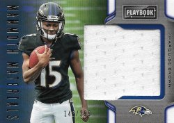 Marquise Brown 2019 Panini Playbook Mammoth Materials 146 of 299