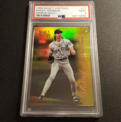 1996  Select Certified Mirror Gold Randy Johnson