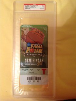 2012  Final Four Semifinals  Ticket