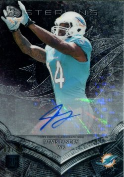 2014 Playoff Sterling Pulsar Refractor Jarvis Landry Rookie Auto