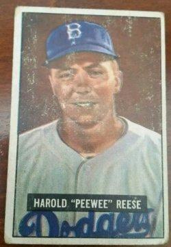 1951 Bowman  Pee Wee Reese