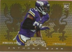 2014 Rookie Gold Barr /25