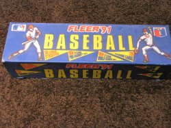 1991 Fleer Baseball Complete Set