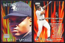 1999  Skybox Premium Intimidation Nation Frank Thomas
