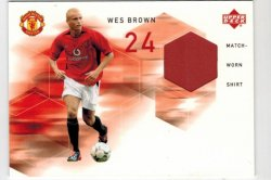 2002 Upper Deck Upper Deck Wes Brown