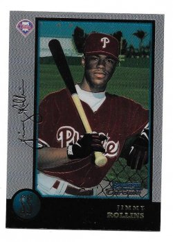 1998 Bowman Chrome Jimmy Rollins