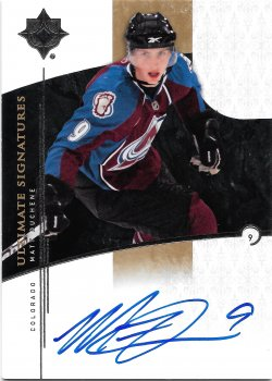 2009-10 Upper Deck Ultimate Collection Signatures Matt Duchene