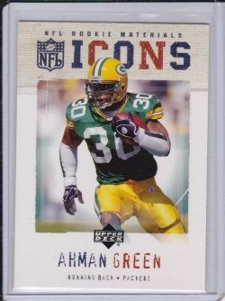 Ahman Green 2005 UD Rookie Debut Icons