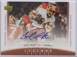 2006 Upper Deck Legends Autographs Gary Clark