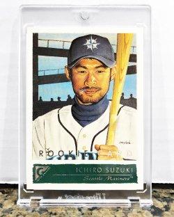 2001 Topps Gallery Ichiro Suzuki (English)