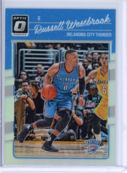 2016-17 Donruss Optic Russell Westbrook Holo