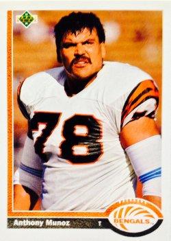 1991 Upper Deck  Anthony Munoz #209