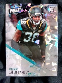2016 Panini Day Jalen Ramsey Rookie Cracked Ice Parallel