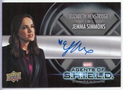 Agents Of Shield: Compendium ELIZABETH HENSTRIDGE (JEMMA SIMMONS)