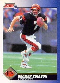 1991  Score Boomer Esiason
