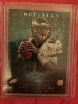 2013 Topps Inception Matt Barkley Rookie Autograph