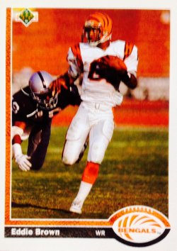 1991 Upper Deck  Eddie Brown #207
