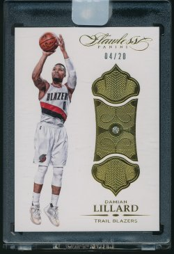 2015-16 Panini Flawless (Diamond) Damian Lillard