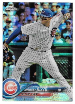 2018 Topps Topps Chrome Prism Refractors Anthony Rizzo