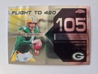 2007 Topps Chrome Flight to 420  Brett Favre
