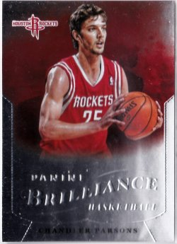 2012-13 Panini Brilliance Chandler Parsons RC