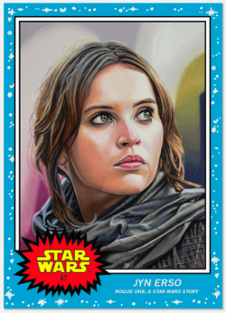 Topps Star Wars Living Set JYN ERSO