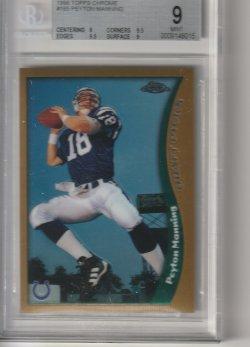 1998 Topps Chrome Peyton Manning