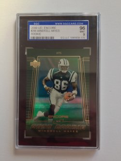 2000 Upper Deck Encore Star Rookie Windrell Hayes