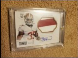 2013 Panini National Treasures Rookie Patch Autographs Black Eric Reid RC AU