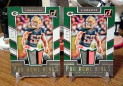 2017 Donruss Donruss Pro Bowl Kings Clay Matthews