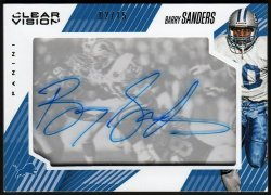 2015   Barry Sanders Clear Vision Auto #2/15