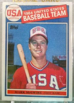 1985 Topps  Mark McGwire OLY