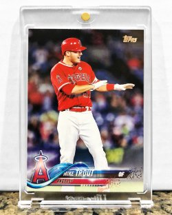 2018 Topps  Mike Trout (Variation Photo SSP)