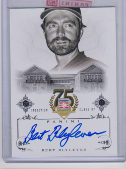 2014 Panini hall of fame blyleven