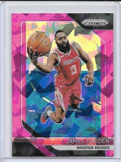 2018-19 Panini Prizm James Harden Pink Ice