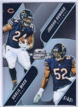 2018 Playoff Contenders Optic Khalil Mack Xs and Os