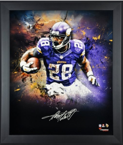 Adrian Peterson Signed Fanatics Authentic Print