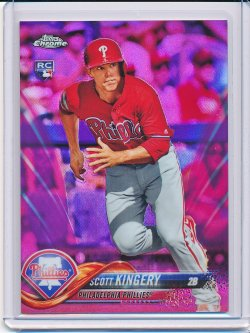 Scott Kingery 2018 Topps Chrome Update Pink Refractor RC