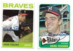 1964 Topps & 1965 Topps TTM Hank Fischer 3/3/21