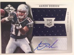 2013 Panini Limited Aaron Dobson RC Auto Jersey
