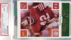 1988  McDonalds  Ronnie Lott - - Green