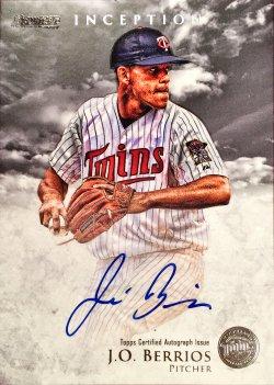 2013 Bowman Inception Prospect Autographs Jose Berrios PA-JB