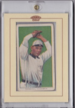 1909  T206 Sweet Caporal 350 Jesse Tannehill