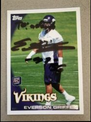 2010 Topps  Everson Griffen Personalized Auto